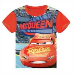 Camiseta Cars Rayo Mcqueen