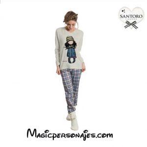 Pijama Santoro Gorjuus Mujer Invierno Toadstools 50726