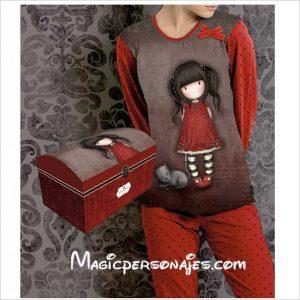 Pijama Santoro Gorjuss mujer invierno Ruby 50375
