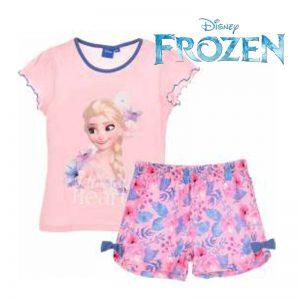 Pijama dos piezad Frozen manga colrta
