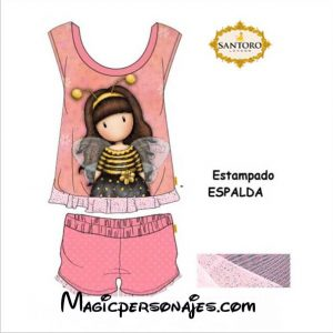 Conjunto niña Santoro Gorjuss Be Loved rosa verano