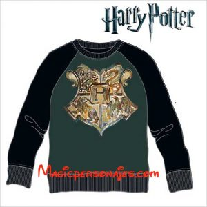 Sudadera Harry Poter Hogwarts Escudo
