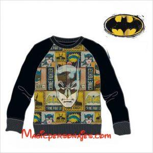 Sudadera Batman cara juvenil