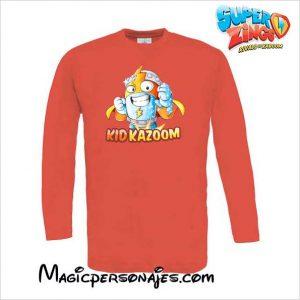 Camiseta Superzings Kid Kazoom roja