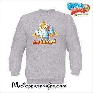 Sudadera Superzings Kid Kazoom niño gris