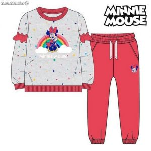 Chándal Infantil Minnie Mouse 74788 Gris