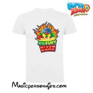 Camiseta Superzings Kydfury blanca
