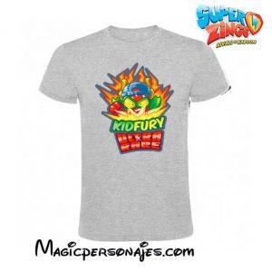 Camiseta Superzings Kydfury gris