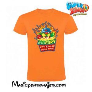 Camiseta Superzings Kydfury naranja