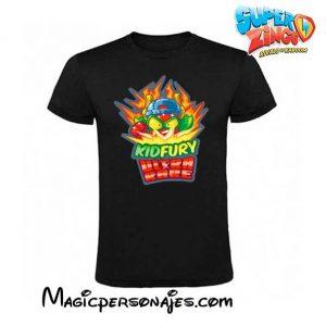 camiseta Superzings Kydfury negra