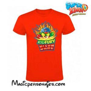 Camiseta Superzings Kydfury roja