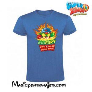 Camiseta Superzings Kydfury azul real