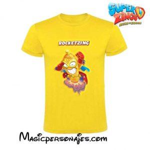 Camiseta Superzings Rocketzing amarilla