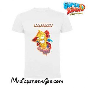 Camiseta Superzings Rocketzing blanca