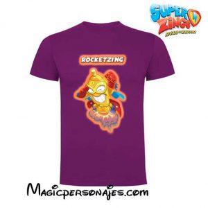 Camiseta Superzings Rocketzing lila
