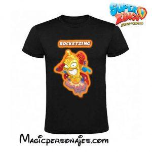 Camiseta Super Zings Rocketzing negra