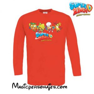 Camiseta Super Zings Grupo roja