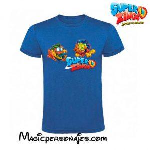 Camiseta Super Zings Trenes para verano