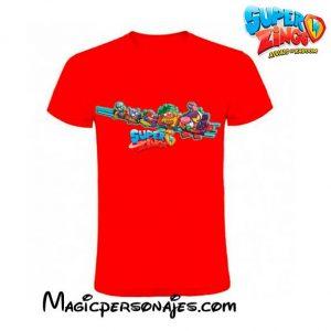 Camiseta SuperZings Tren roja