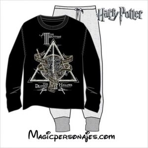 Pijama Harry Potter hombre Deathly Hallowns