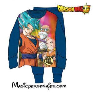 Pijama niño Dragon Ball invierno marino