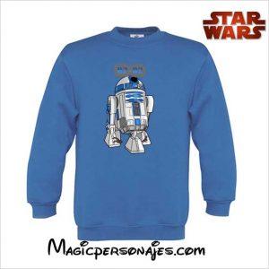 Sudadera R2 D2 Star Wars royal