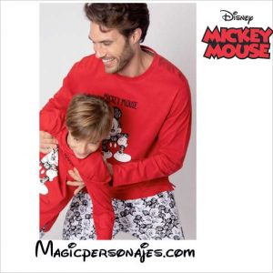 Pijama Mickey Mouse hombre invierno