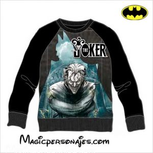 Sudadera Batman Joker juvenil